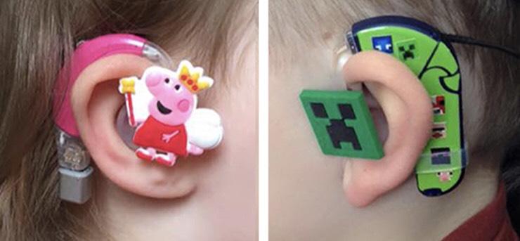 助聽器/電子耳防掉繩+裝飾